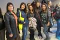 """Учениците от СУ """"Олимпийски надежди"""" – Райна Баталова, Александра Мирчева, Мария Шокова и Петя Сивенова  участваха в регионалното математическо състезание"""